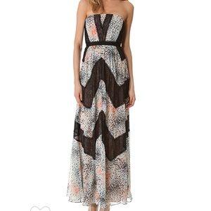 BCBGMaxAzria Elle Maxi Dress.